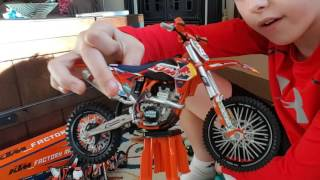 My toy dirtbike collection