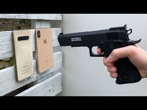 Samsung Galaxy S10 Vs IPhone XS Max Vs GUN