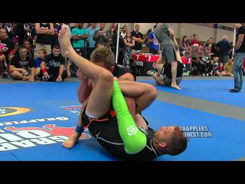 SUBMISSION! Rafael Formiga Barbosa vs Shawn Durfee at GQ New England Grappling Championships 2012