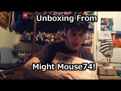 Unboxing From Might Mouse 74 [1/31/14]