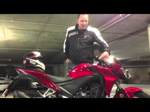 Honda CB 500 F Review