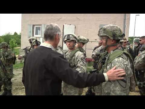 Secretary of the Army tours JMRC