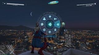 The Spider-Man mod by JulioNIB - Special attacks - GTA 5 PC