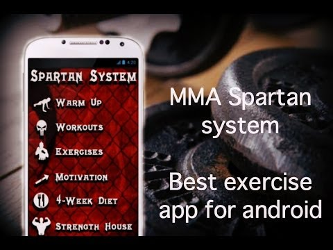 MMA Spartan System- Best exercise and bodybuilding app