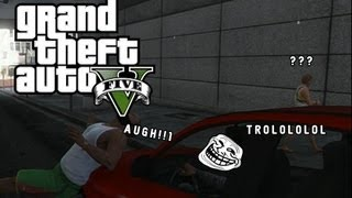 Grand Theft Auto V  - GTA 5 -  Funny Gameplay Moments!