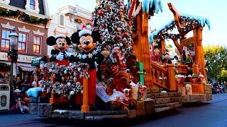 A Christmas Fantasy Parade 2018, Disneyland Park, Holidays at Disneyland