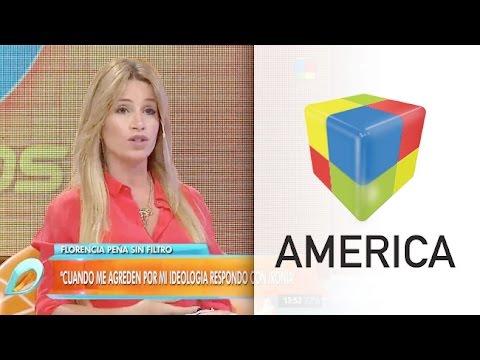 """Florencia Peña: """"Sufrí mucho por exponer mi ideología"""""""
