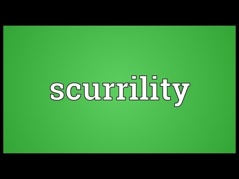 Header of scurrility