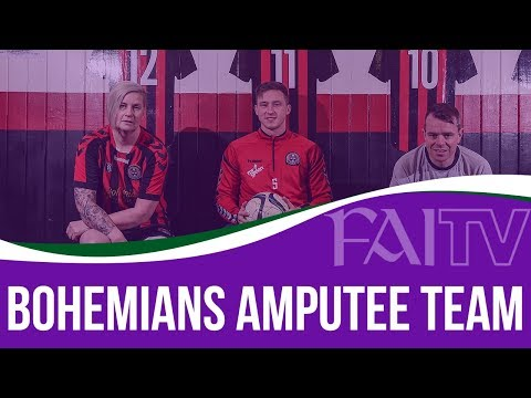 Bohemians launch their amputee team at Dalymount Park