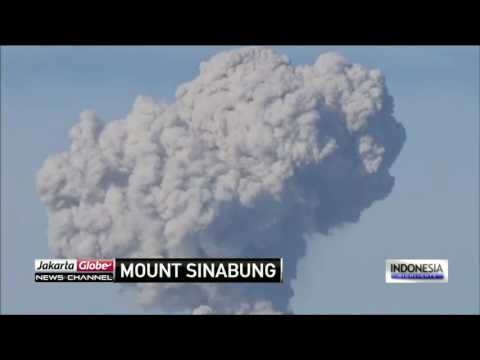 Mount Sinabung Continues To Erupt