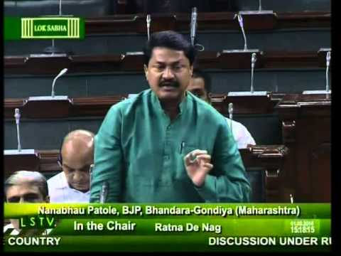 Lok Sabha: Flood and drought situation in the country: Shri Nanabhau Patole:  01.08.2014