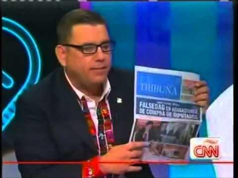 Manuel Baldizon se defiende en Cala CNN 2000 220213