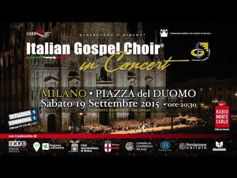 SPOT RMC Concerto Italian Gospel Choir® - 19.09.2015 - Piazza Duomo Milano