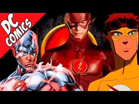 Дети Флэша? Клон Барри Аллена? Все о спидстерах DC - Семья Флэша / Flash Family