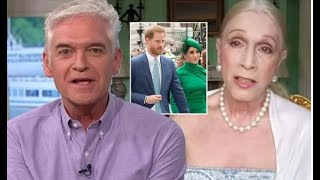 Lady Colin Campbell calls Phillip Schofield ignorant   Phil Schofield clashes with Lady C over book
