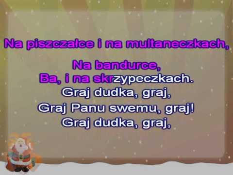 Karaoke Kolęda - Jam Jest Dudka - Z Linią Melodyczną