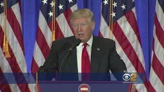Trump Slams Russia Dossier As False