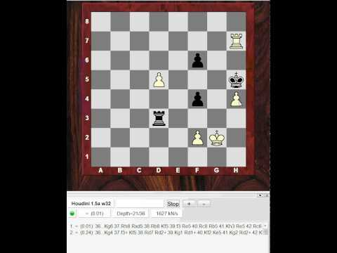 Chess World.net : Chess Endgame Lesson! - Rook and Pawn endgame post mortem analysis