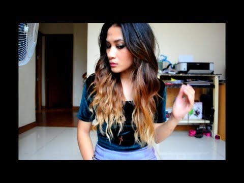 Easy Bohemian waves hair tutorial + OOTD (REUPLOAD)
