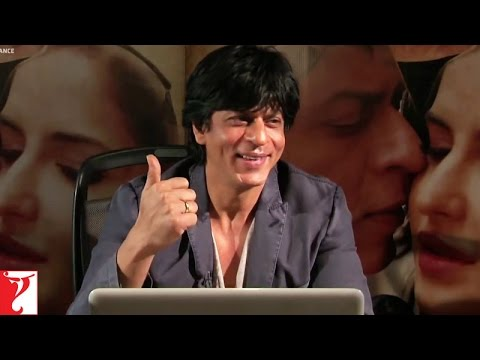 Live Video Chat With Shah Rukh Khan - Part 1 - Jab Tak Hai Jaan