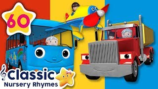 Vehicle Songs | +More Classic Nursery Rhymes | Little Baby Bum