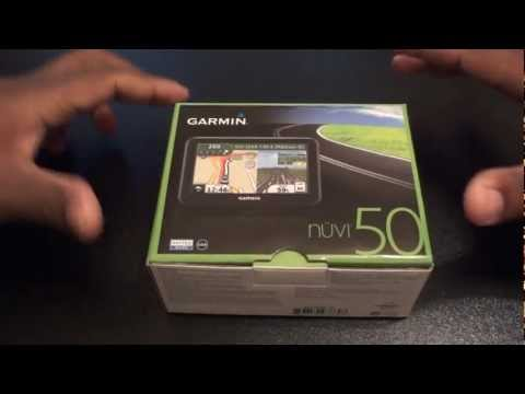 Garmin Nuvi 50 GPS Unboxing and Review