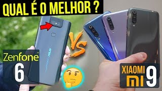 ZENFONE 6 BEATS FRONT with XIAOMI mi 9 🤨 Which is BEST?