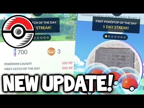 POKEMON GO NEW UPDATE - DAILY BONUSES! POKEMON GO UPDATE NEWS, NEW POKEMON GO UPDATE SNEAK PEEK!