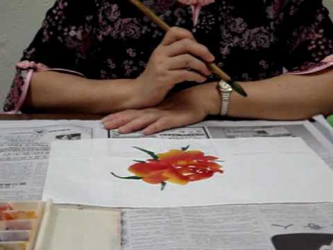 Watch Chinese Painting -Rose for Beginners 1