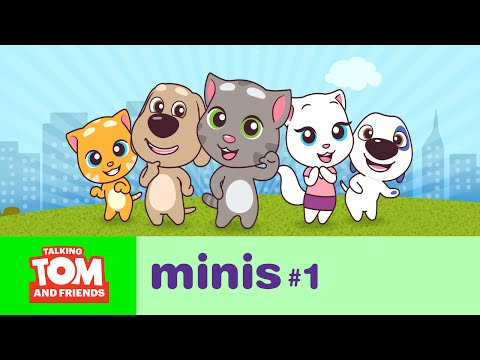 Talking Tom and Friends Minis - The Big Move (Episode 1)