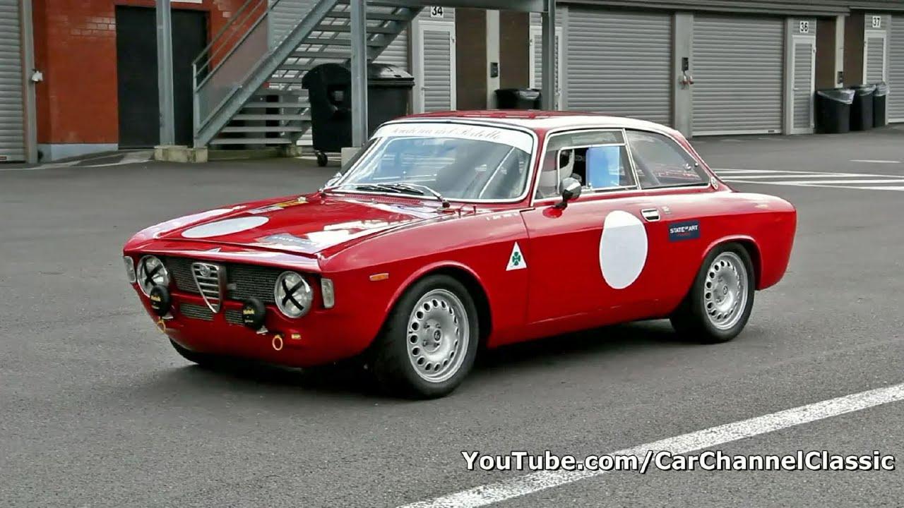 Alfa Romeo Giulia 1600 Sprint GT sound!! 1080p HD - YouTube