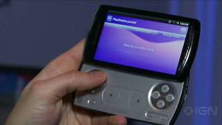 Xperia Play (PSP Phone): Hands On Look