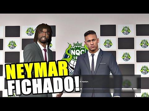 NEYMAR FICHADO POR 100 MILLONES!!! | PES 2016
