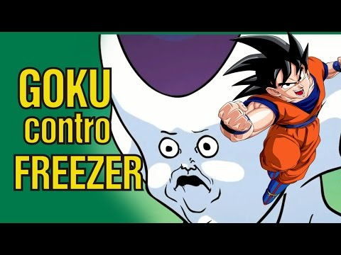 Goku  Vs  Freezer  In Siciliano Parodia video