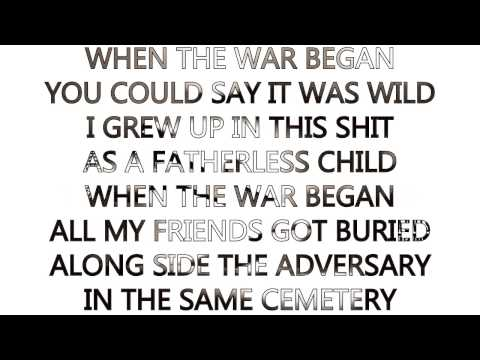 Conejo-When The War Began(The Bootlegs Vol. 7)[2013](LYRICS ON SCREEN)