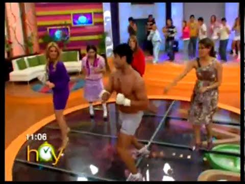 Gym Pelea Gali y Andrea :P