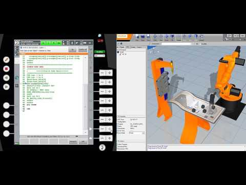 KUKA ROBOT Programming - BOOLEAN Search Example