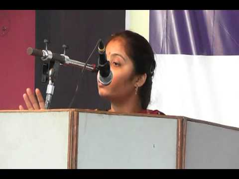 Maharashtra Upsc Topper Ku.shipra Agre Telling Her Experience To Students video