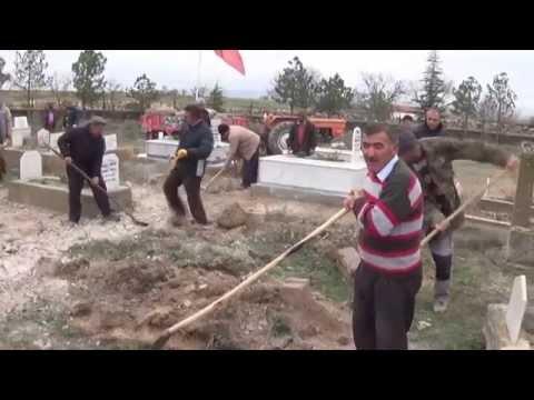 Gülşehir Yeşilyurt Köyü Mezarlık Çalışması