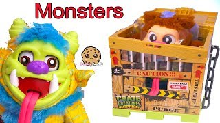 Crate Monster Surprise ! Talking Plush Toys
