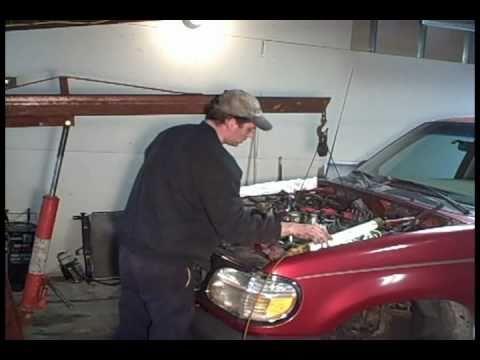 4.0 SOHC Ford Explorer Engine Replacement part 4