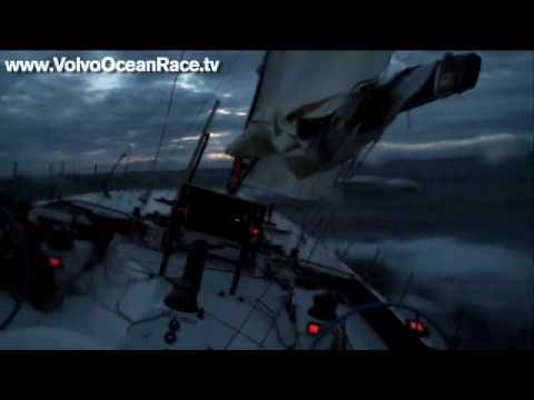 Boat breaking conditions - Volvo Ocean Race 2008-09