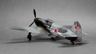 Yakovlev Yak-3 Eduard 1:48 - ww2 aircraft model