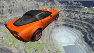 High Speed Crash Compilation 27 - Death Jump - BeamNG.Drive Car Accident