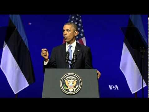 President Obama Pledges Baltics Support Against Russia