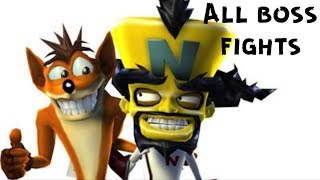 Crash TwinSanity All Boss Fights (HD)
