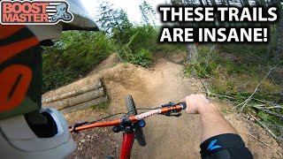EPIC DOWNHILL FREERIDE High Speed Trails! - Mt Prevost | Jordan Boostmaster
