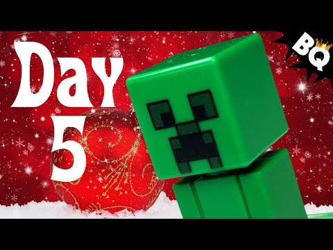 Custom LEGO Minecraft Advent Calendar Day 5 Unboxing