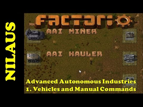 AAI Mod Tutorial 1 - Vehicles and Manual Commands