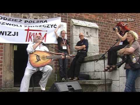 Koncert Macieja Wróblewskiego Na Rynku Gł.w Krakowie.